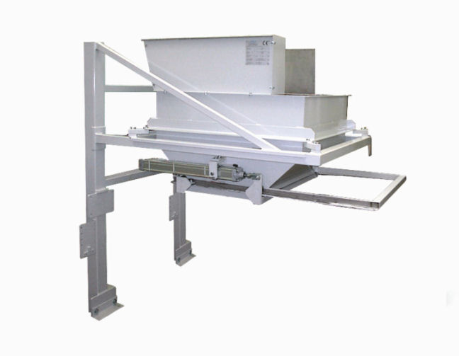 Pumice weigher container_